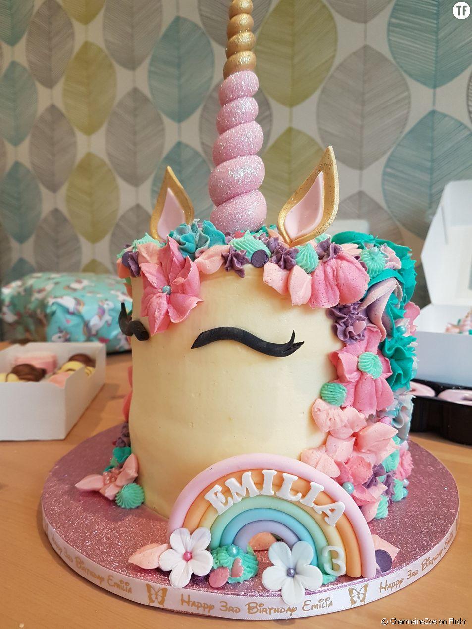 La recette du gâteau licorne