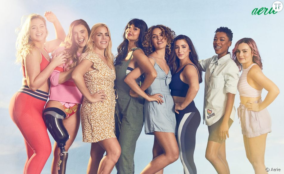Jameela Jamil, Busy Philips et Samira Wiley nouvelles ambassadrices Aerie