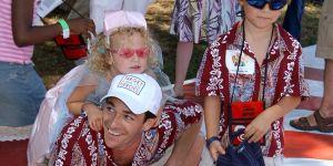 L'astuce magique de Luke Perry pour calmer instantanément un enfant