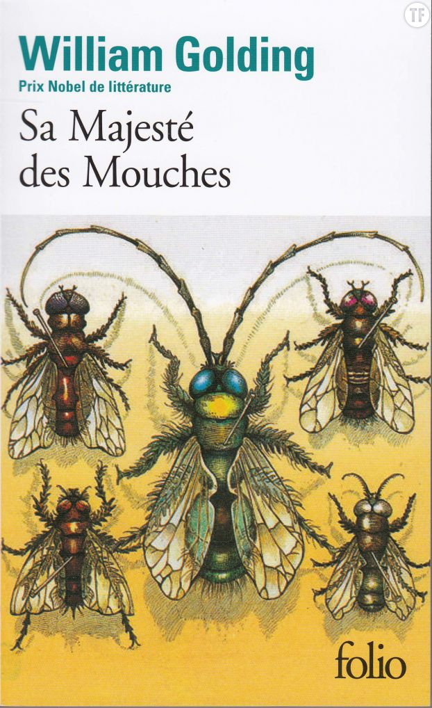Sa majesté des mouches - Editions Gallimard - Collection Folio -