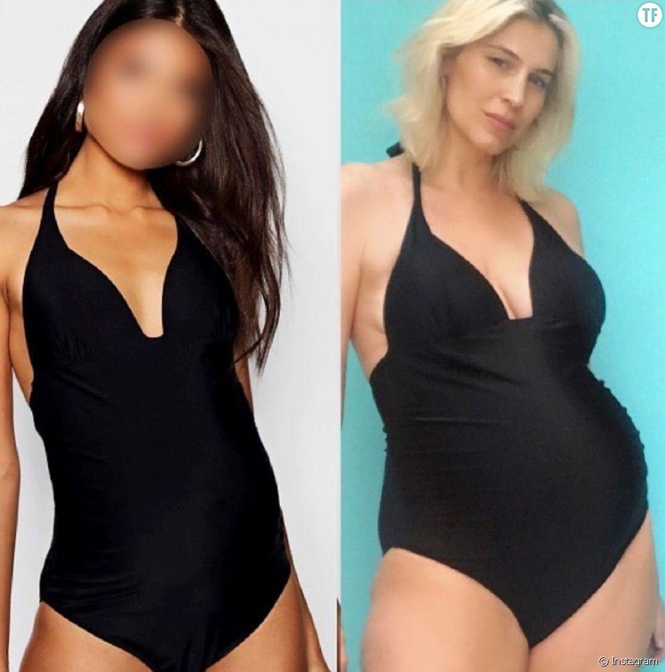 Une influenceuse s'insurge contre les faux ventres de grossesse dans les publicités