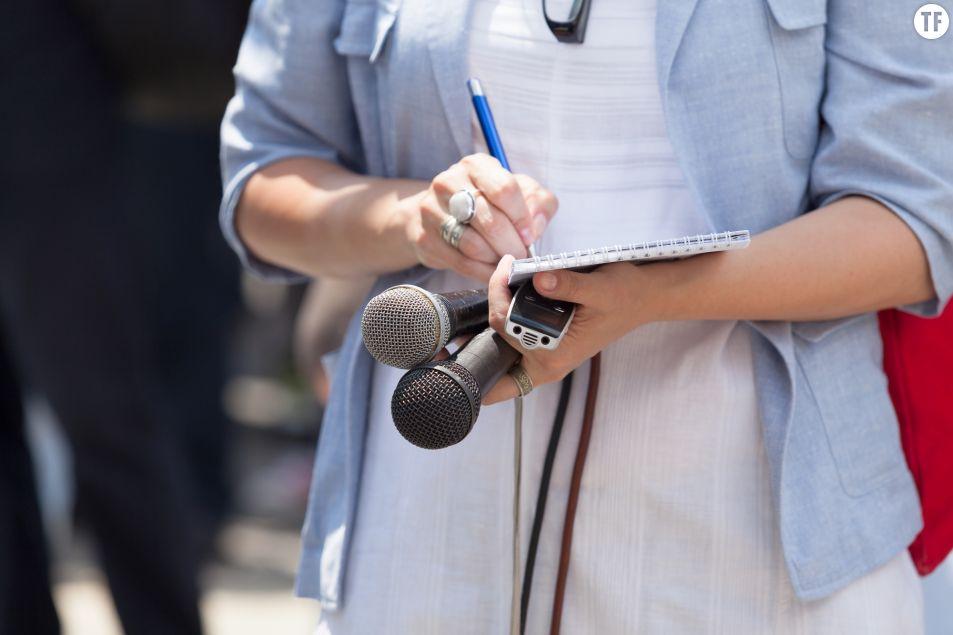 Des hommes politiques refusent d'être intervierwés par une femme journaliste. Getty Images.