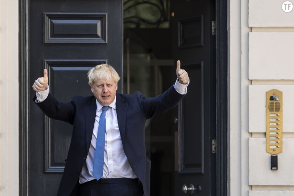 Le Premier ministre britannique Boris Johnson. Getty Images.