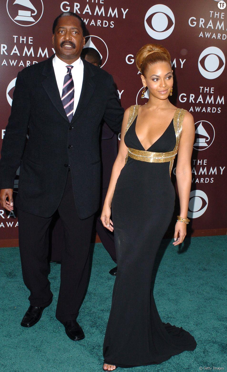 Matthew Knowles et Beyoncé en 2005