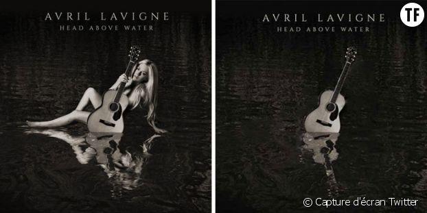 """Avril Lavigne, """"avant et après"""""""