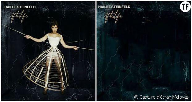 "Hailee Steinfeld, ""avant et après""..."
