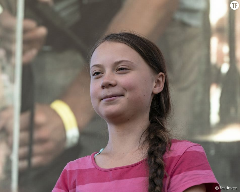L'activiste écologiste Greta Thunberg.