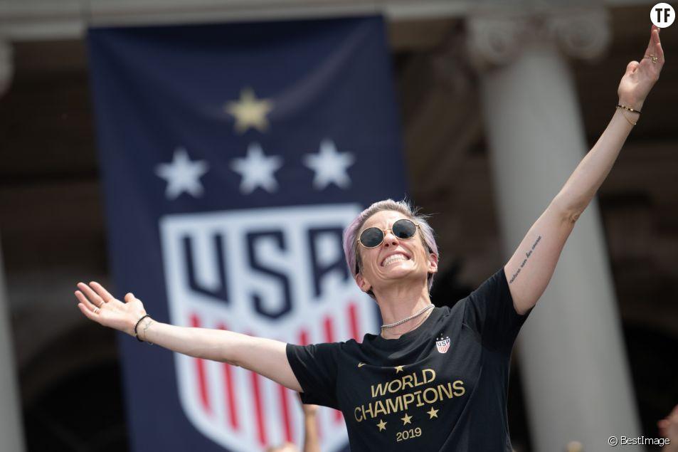 Megan Rapinoe consacrée Ballon d'or féminin : qui dit mieux ?