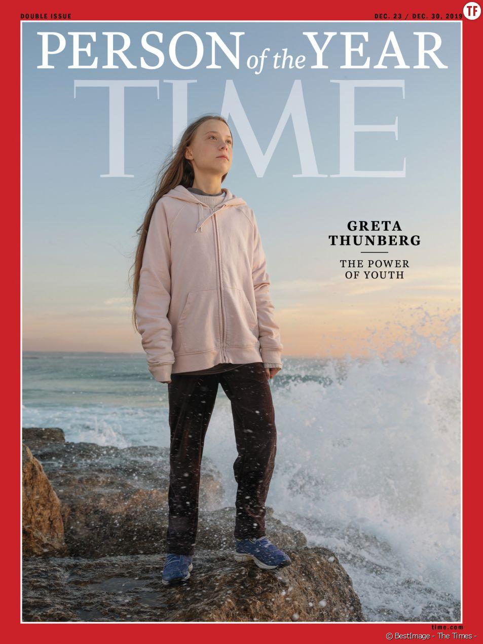 Greta Thunberg est la personnalité de l'année.