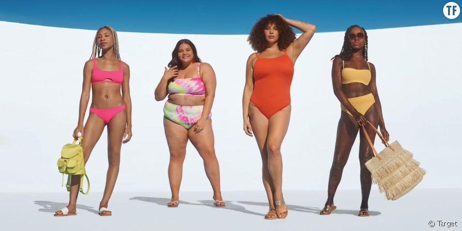 Une mannequin atteinte d'ichtyose pose en bikini pour la nouvelle campagne Target