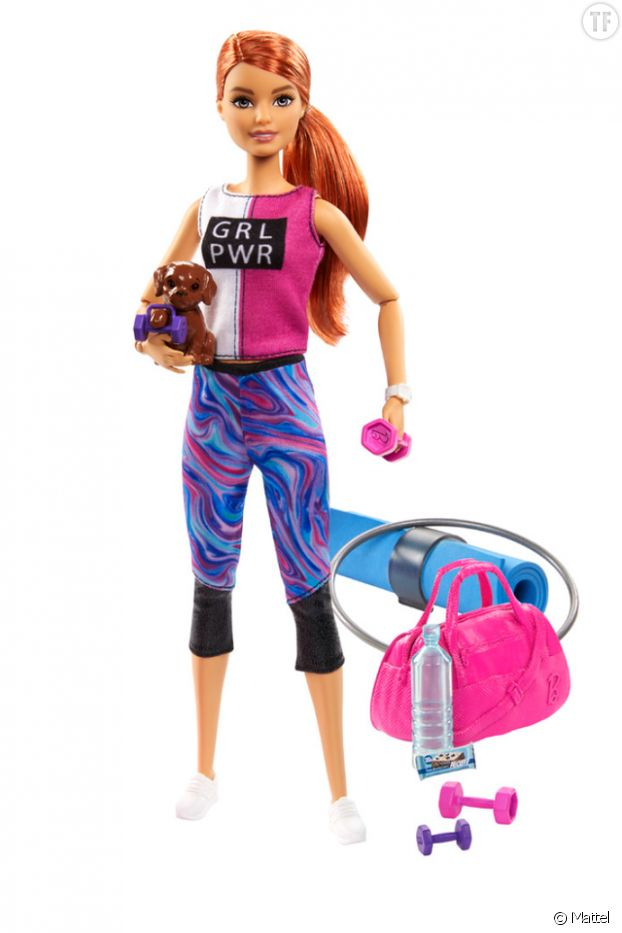 Barbie Spa Day Fitness Doll