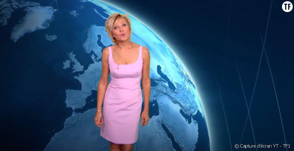 Evelyne Dheliat, figure emblématique de TF1.