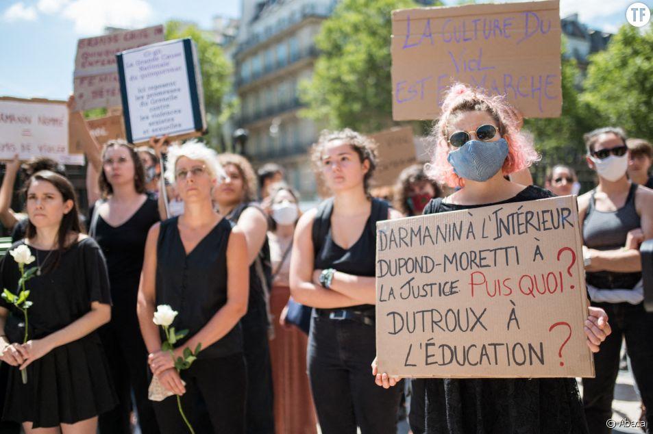 Cette pétition exige le départ de Gérald Darmanin et Eric Dupond-Moretti du gouvernement