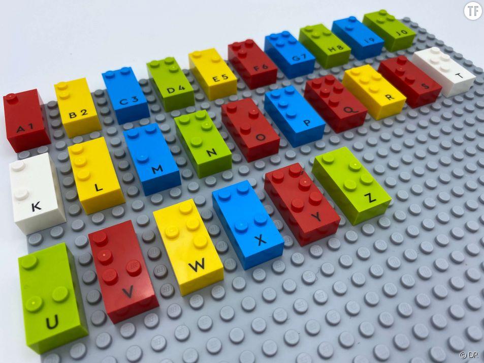 Des Legos pour les enfants aveugles et malvoyants