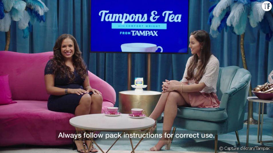 Cette pub expliquait comment utiliser un tampon : elle a été censurée