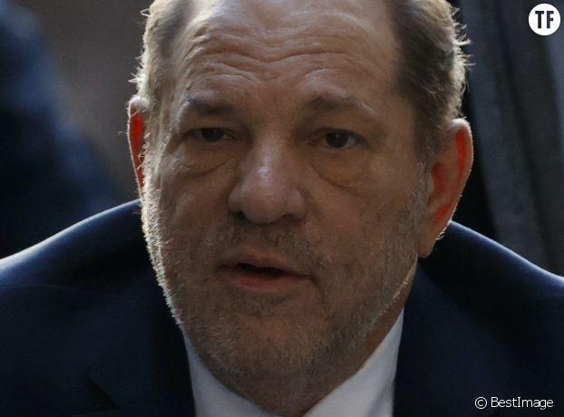 Harvey Weinstein, au moment de son procès en janvier 2020.