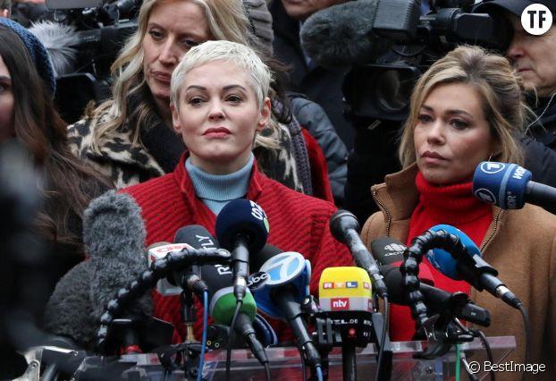 Rose McGowan, l'une des voix majeures de l'affaire Weinstein.