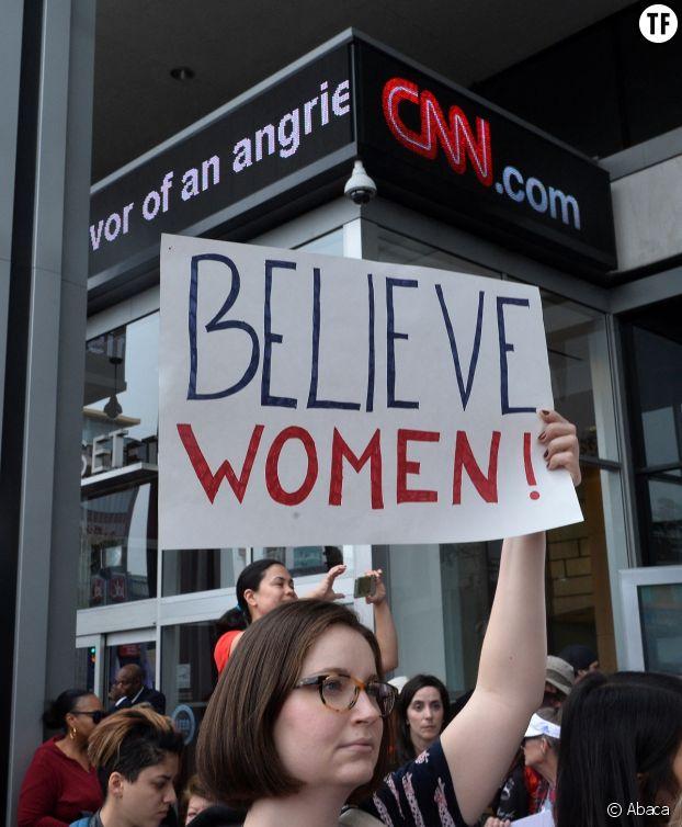 """""""Croire les femmes"""" : une affaire qui dépasse le New York Times."""