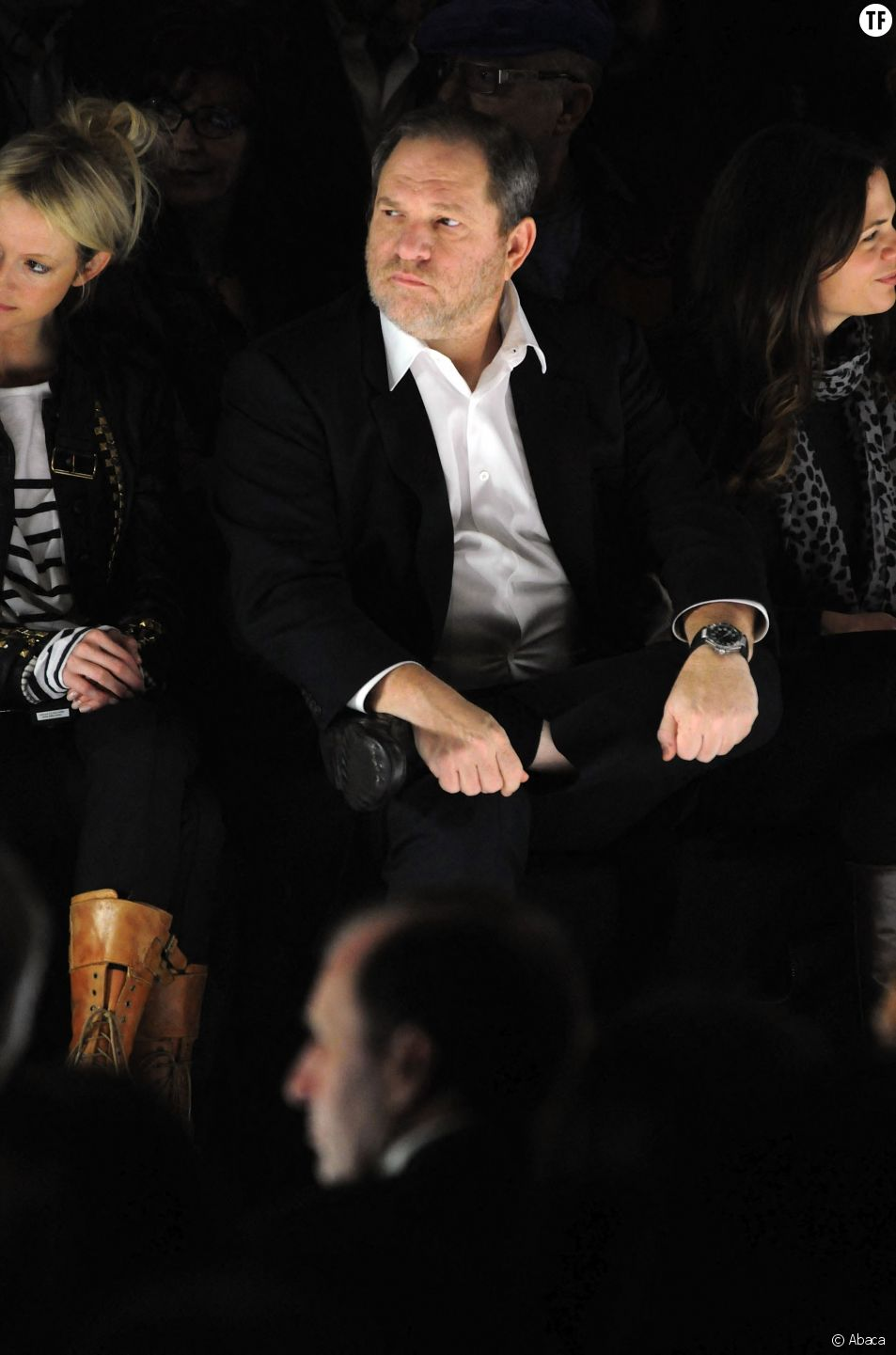 Harvey Weinstein à la Fashion Week en 2010