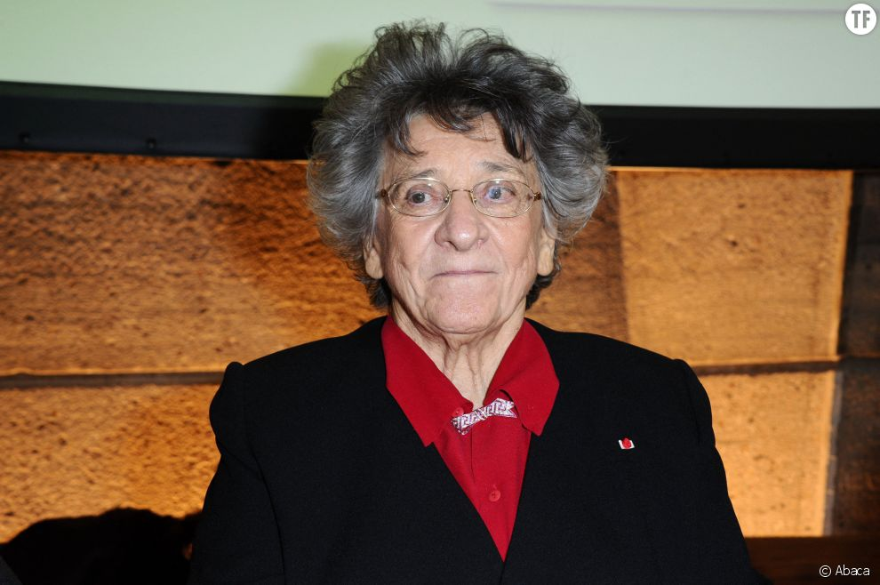La militante féministe Antoinette Fouque le 22 novembre 2013