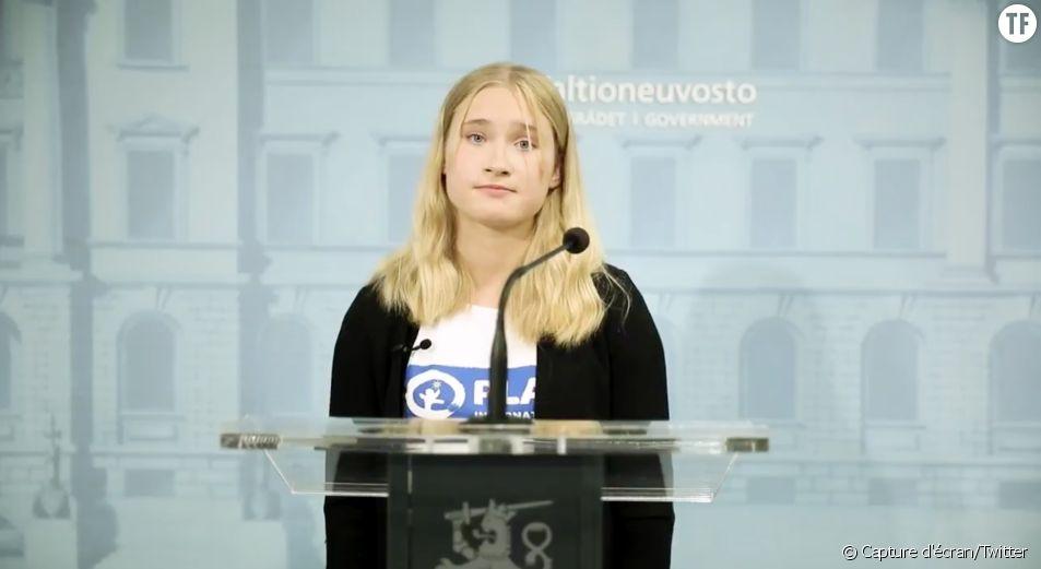 Aava Murto, 16 ans, devient Première ministre de la Finlande pour une journée