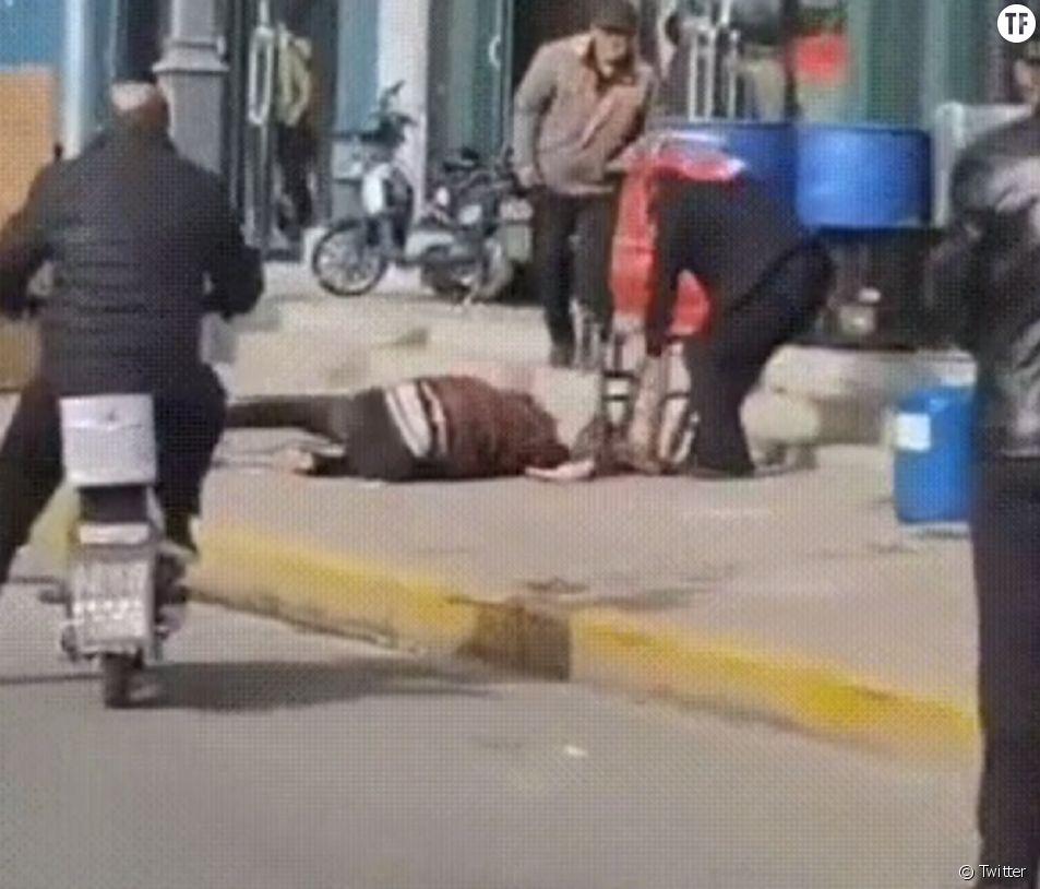 Une femme battue à mort en pleine rue dans une ville de Chine.
