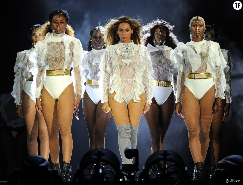 Beyoncé en concert le 27 avril 2016 à Miami