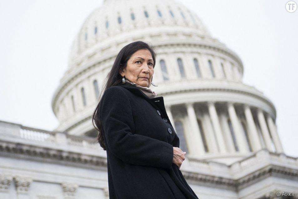 La congressiste amérindienne Deb Haaland le 17 décembre 2020.