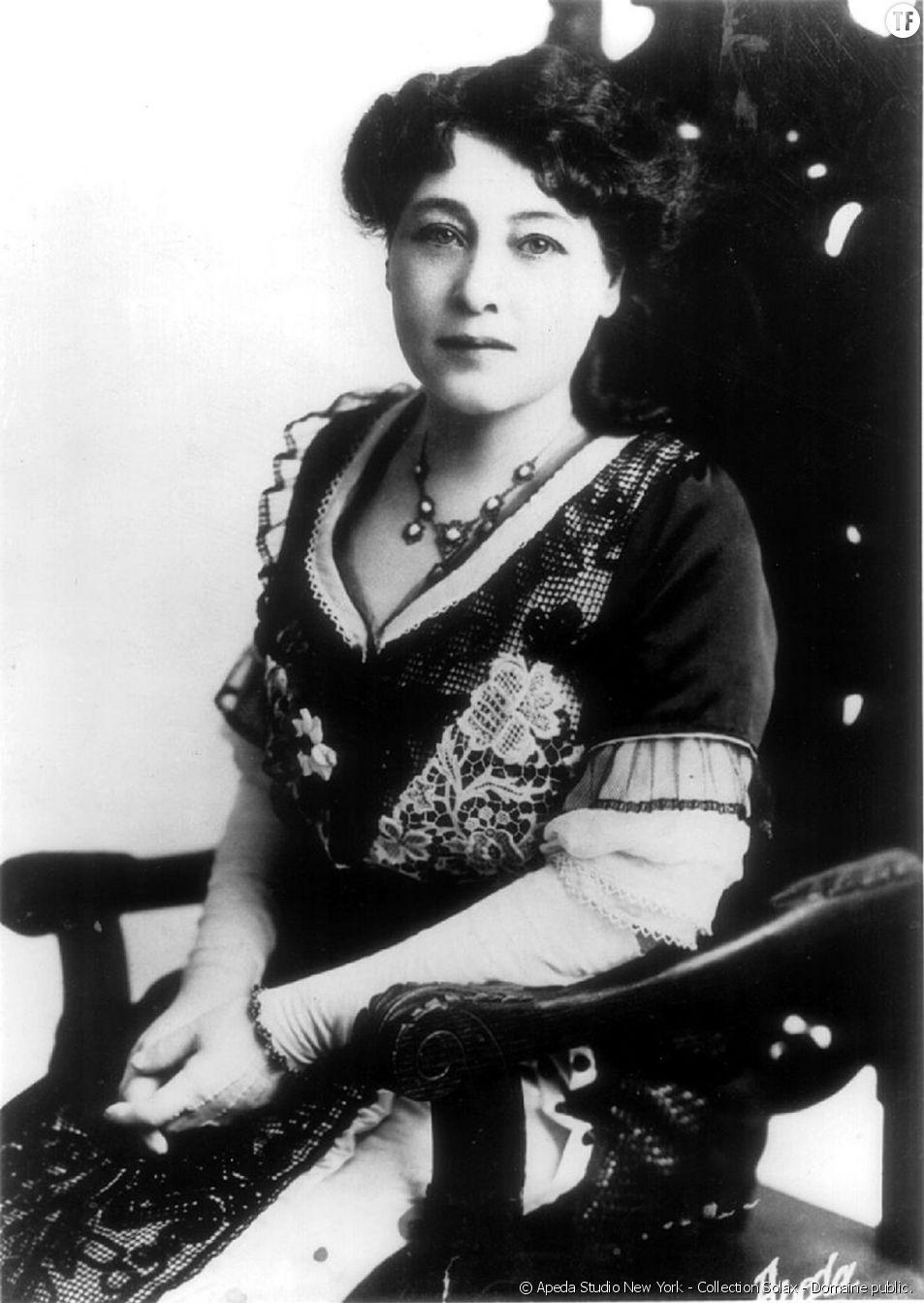 La réalisatrice pionnière Alice Guy, le janvier 1896.