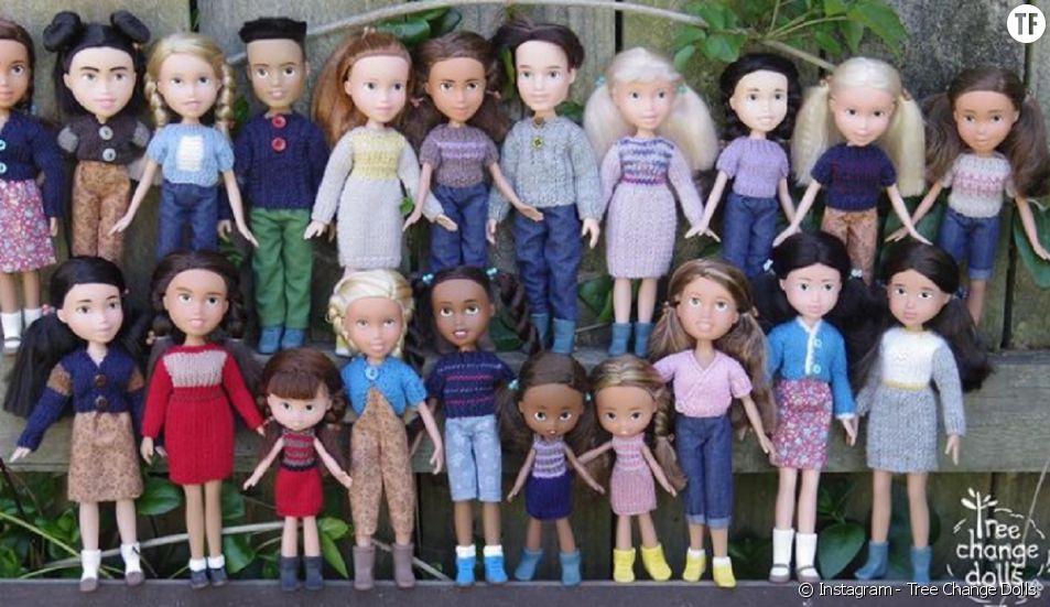 """Le projet """"Tree Change Dolls"""" recycle les poupées préférées de vos enfants."""