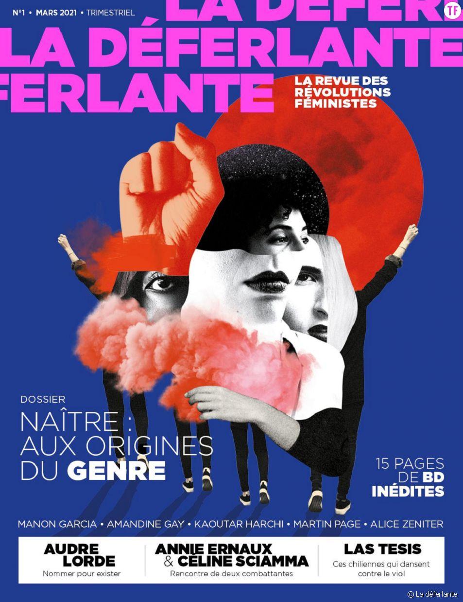 La Déferlante, la nouvelle revue trimestrielle qui fait résonner les luttes féministes.