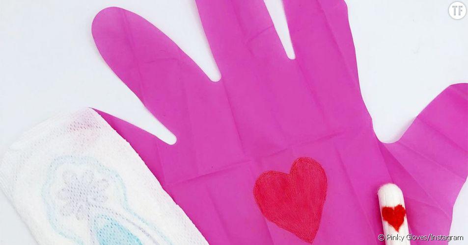 """Ces deux """"inventeurs"""" ont créé des gants roses pour enlever des tampons (et on hallucine)"""