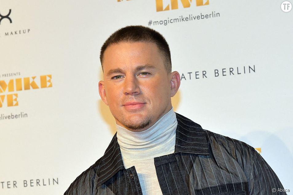 Channing Tatum à la première de Magic Mike Show à Berlin le 16 janvier 2020