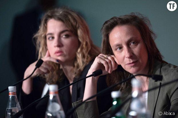 Céline Sciamma et Adèle Haenel, âmes soeurs artistiques et politiques.