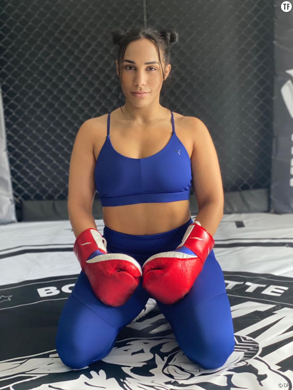 La combattante de MMA, Rizlen Zouak