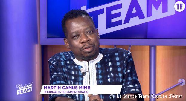 Le journaliste Martin Camus Mimb