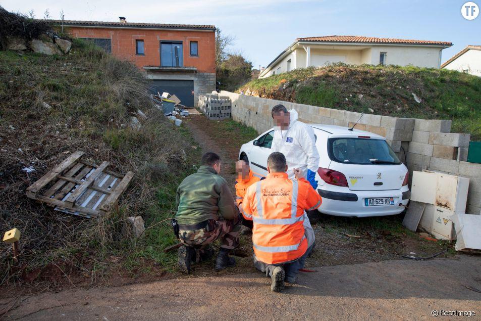 La maison en construction de Delphine Jubillar, disparue depuis le 16 décembre 2020 à Cagnac les Mines dans le Tarn
