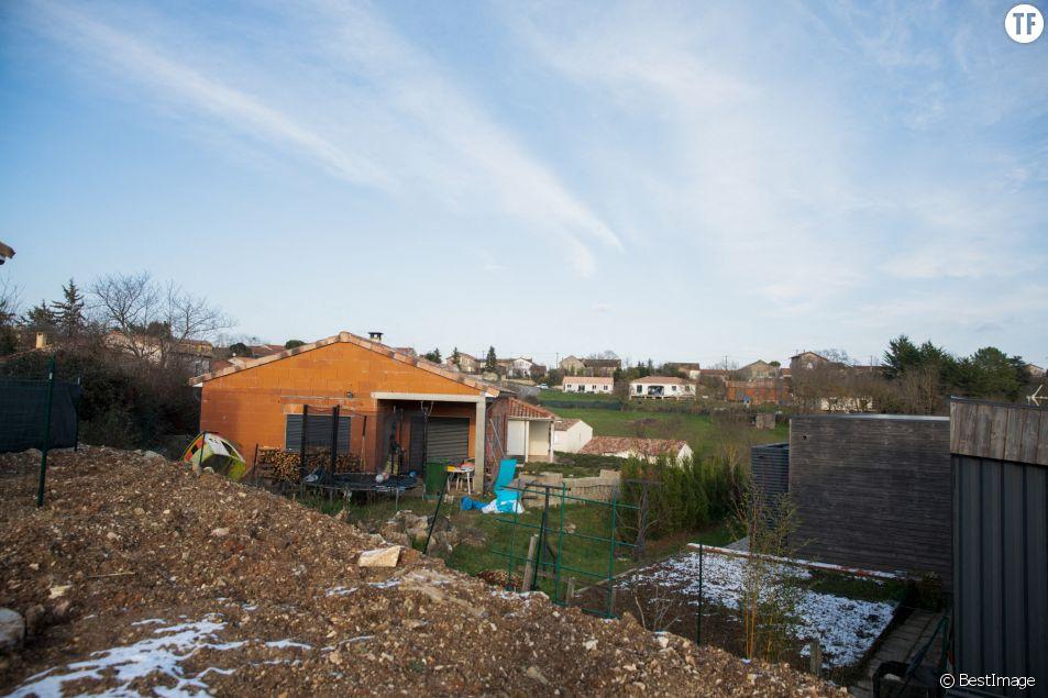 La maison en construction de Delphine Jubillar à Cagnac les Mines dans le Tarn