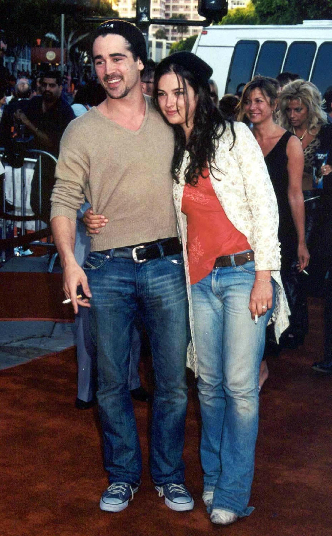 Amelia Warner en couple avec Colin Farrell en juin 2011