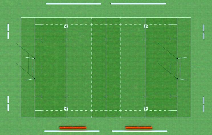 terrain de rugby. Black Bedroom Furniture Sets. Home Design Ideas