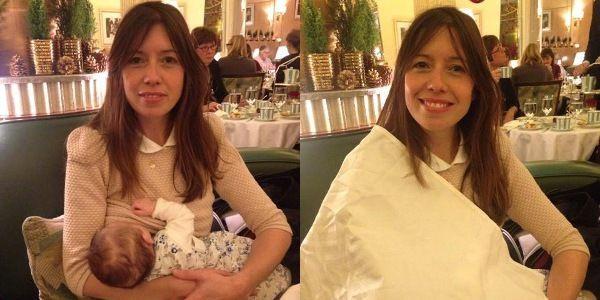 Louise Burns au Claridge's de Londres