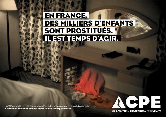 Campagne contre la prostitution des mineurs