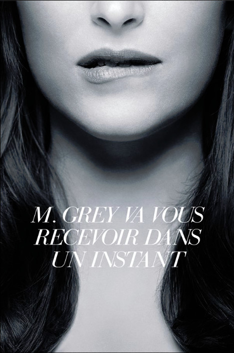 Nouvelle affiche Fifty Shades of Grey