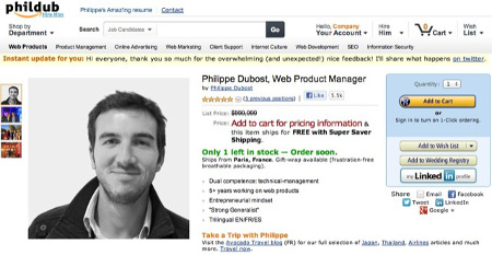 Le CV Amazon