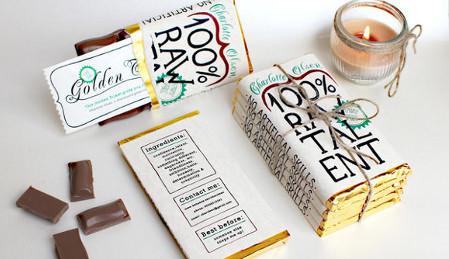 Le CV tablette de chocolat