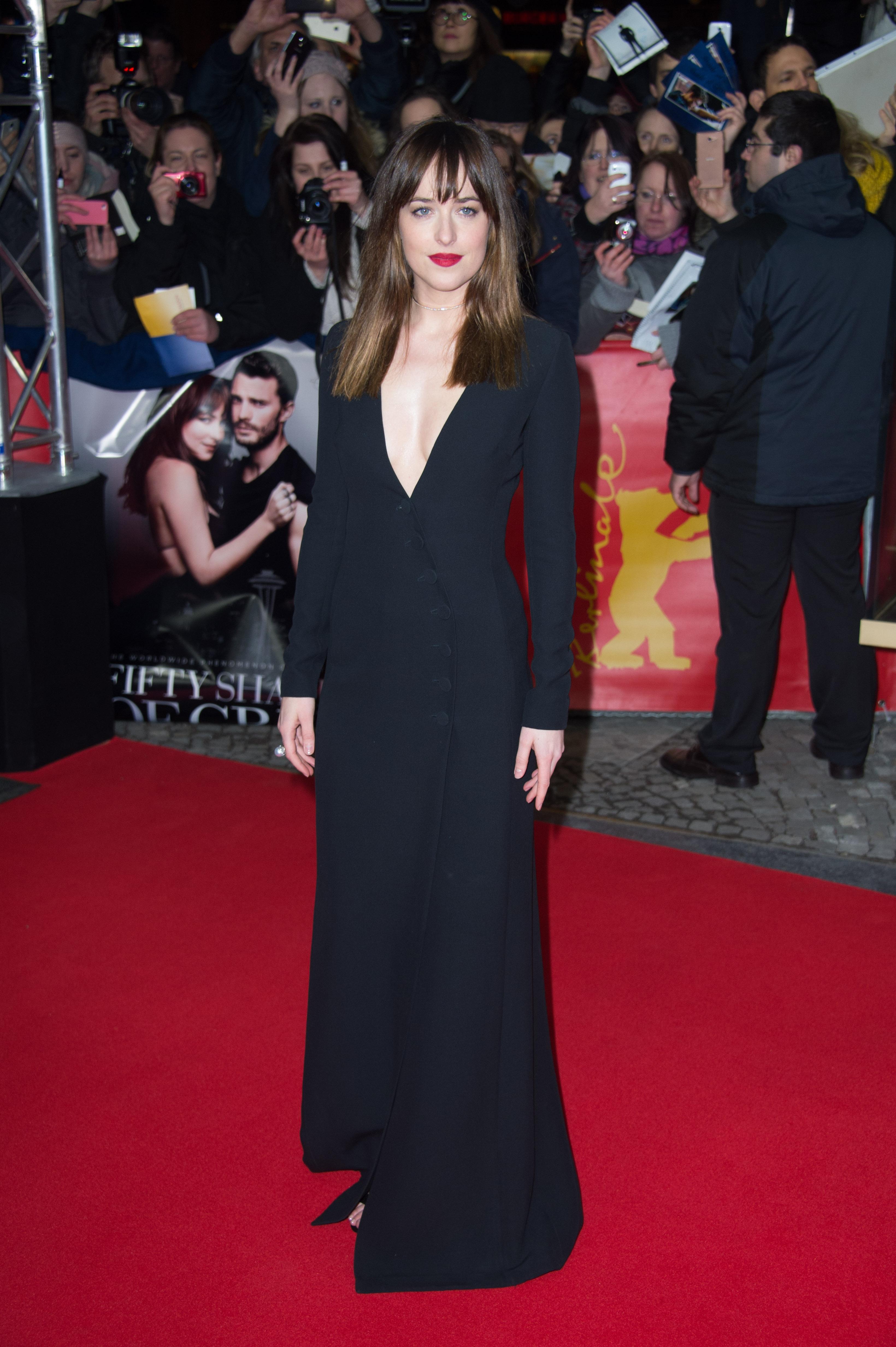 Dakota Johnson robe Dior 50 Shades berlin