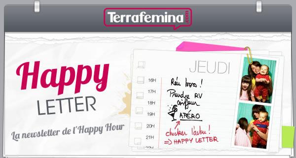La Happy Letter Terrafemina