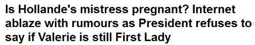 Gros titre du Daily Mail