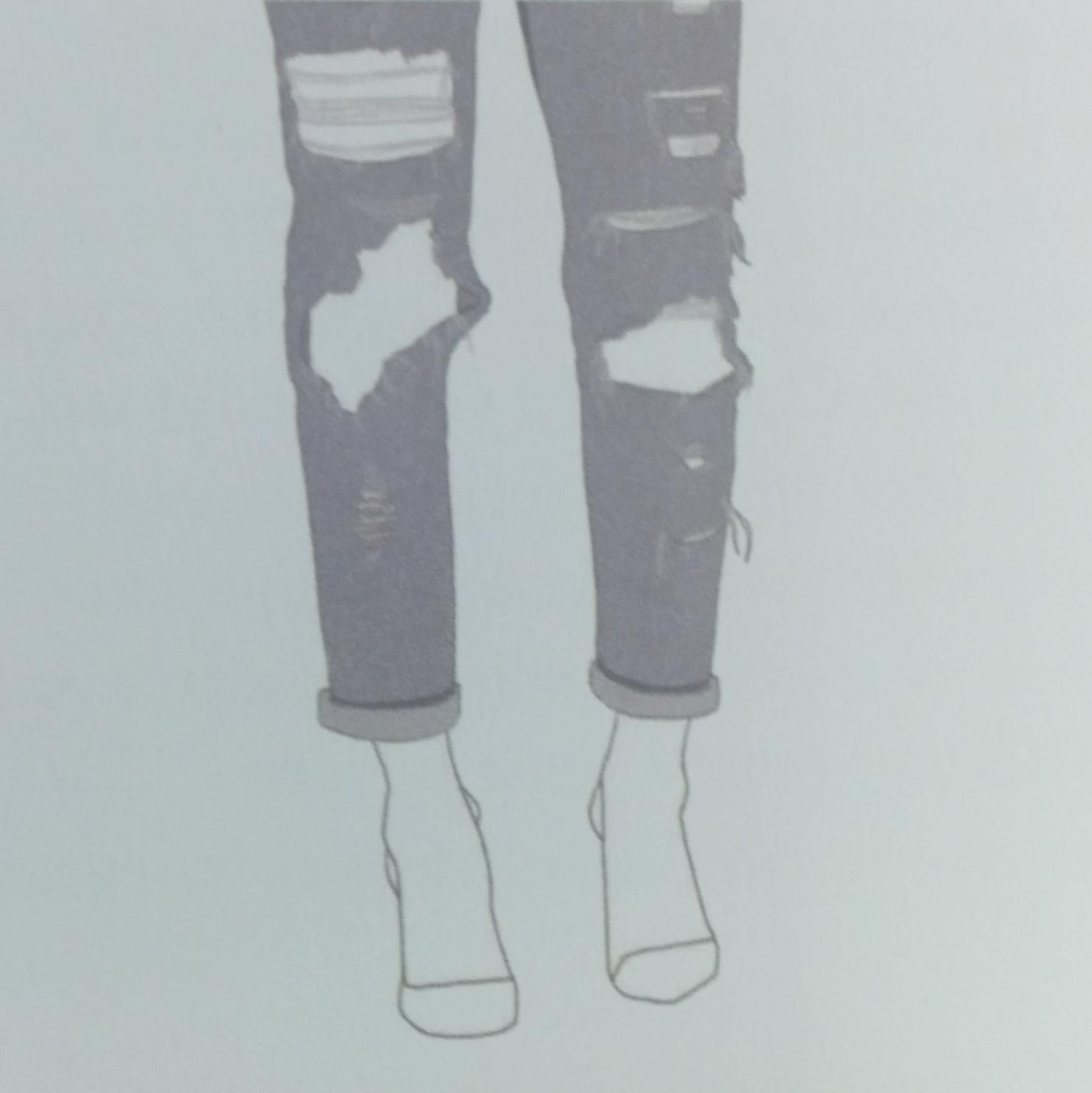 comment dessiner un jean