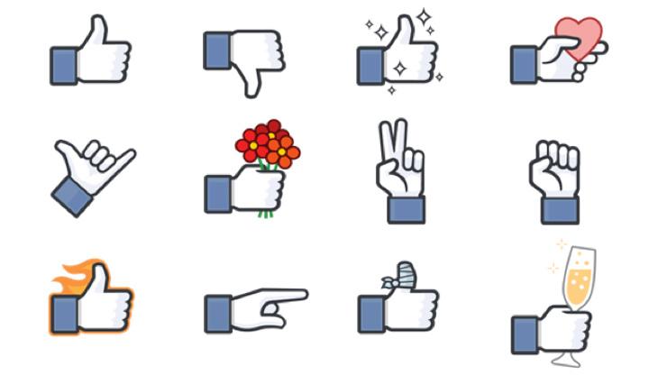 Nouveaux likes Facebook